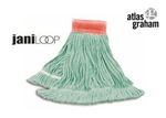 JaniLoop Wet Mop Narrow Band Green Large