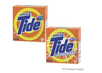 Tide Ultra Powdered Laundry Detergent 3kg (56 loads)